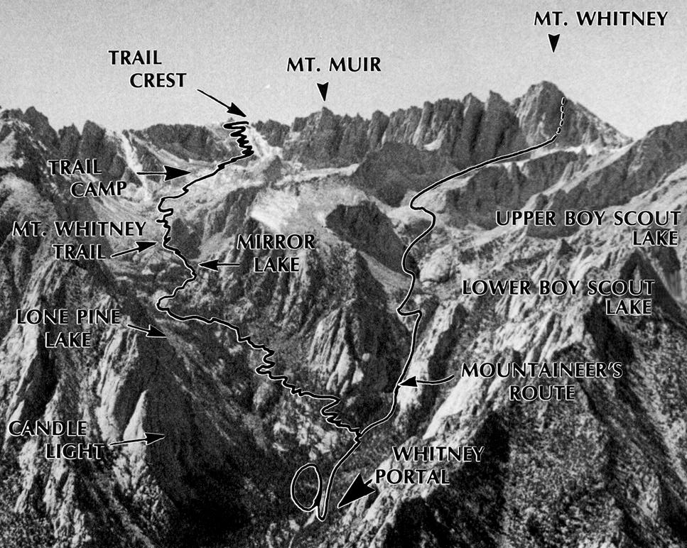 Mt whitney map sciox Choice Image